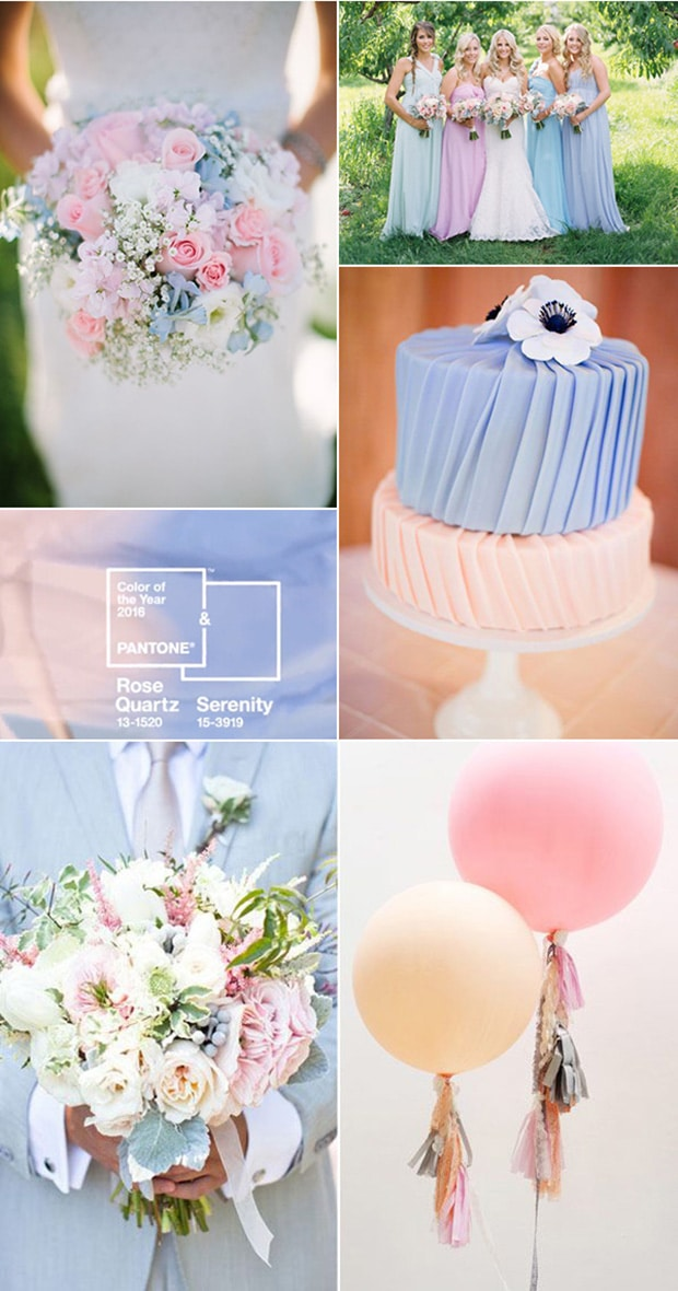 FOTO 5 Rose-Quartz-and-Serenity-pastel-wedding-color-ideas-for-2016-trends
